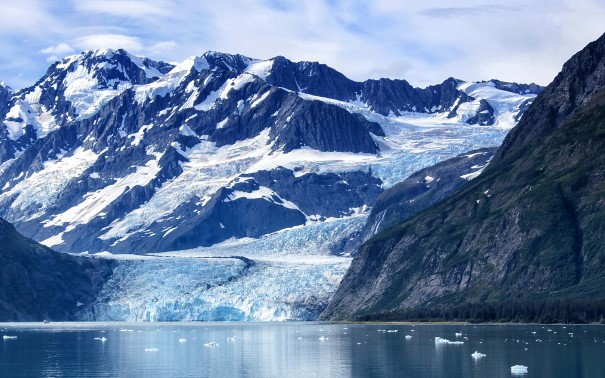 Glaciers and rugged beauty throughout the area.