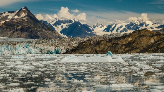 Experience the dramatic icescape of Prince William Sound.