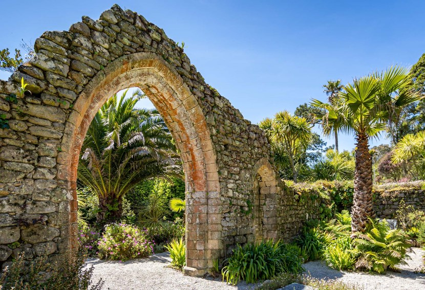 Admire the lush Tresco Abbey Gardens in the Isles of Scilly.