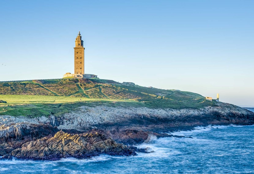 The Tower of Hercules – an ancient lighthouse still in use.