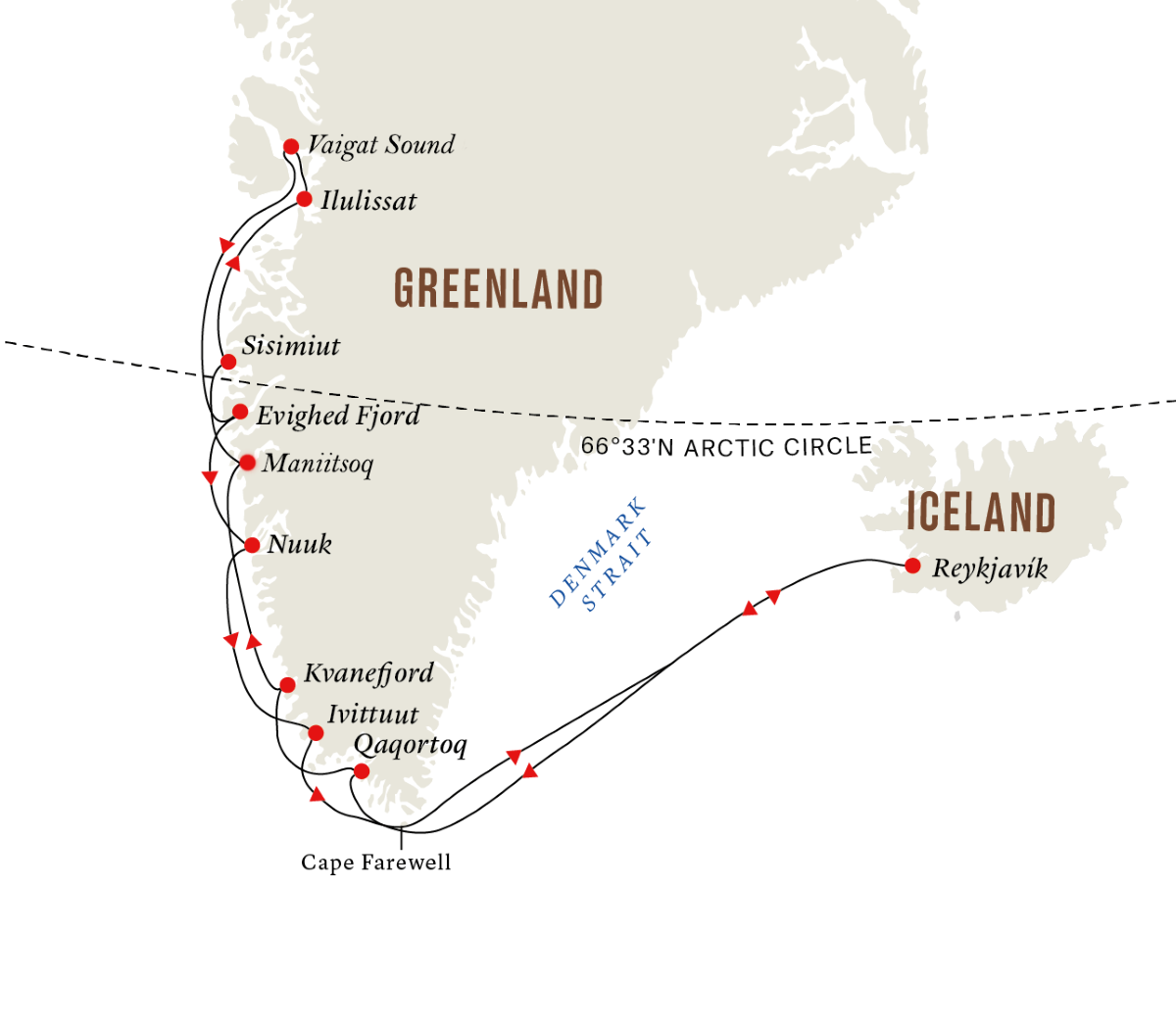Disko Bay – The Heart of Greenland (Itinerary 1)