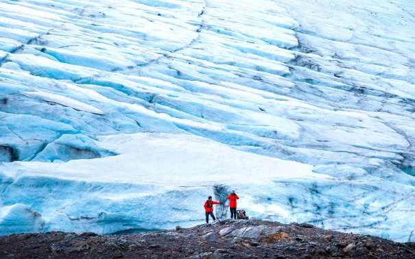 Discover the awesome power of glaciers.