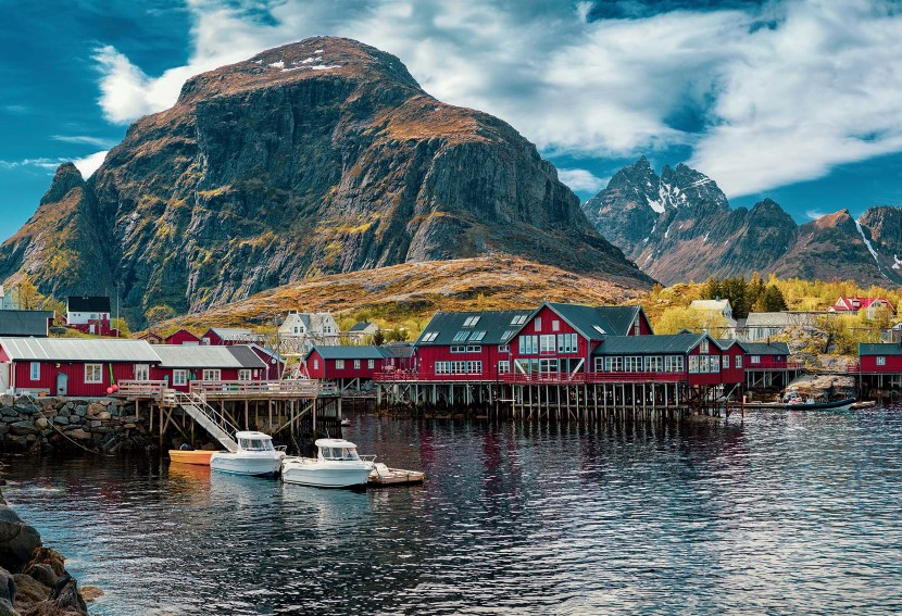 Experience friendly, seldom-visited fishing villages in the Lofoten Islands.