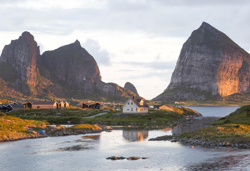 Explore coastal Norway in the perpetual daylight of summer.