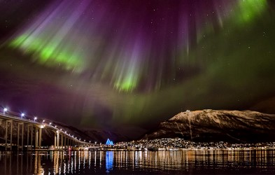 Experience the greatest light show on earth - the Aurora Borealis - in Tromsø