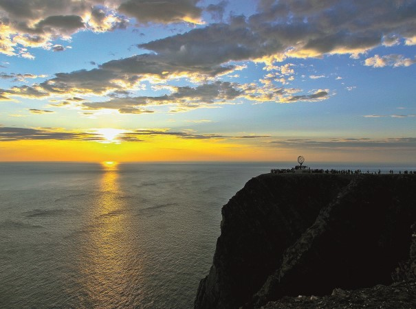 Stand on the edge of the world – the North Cape