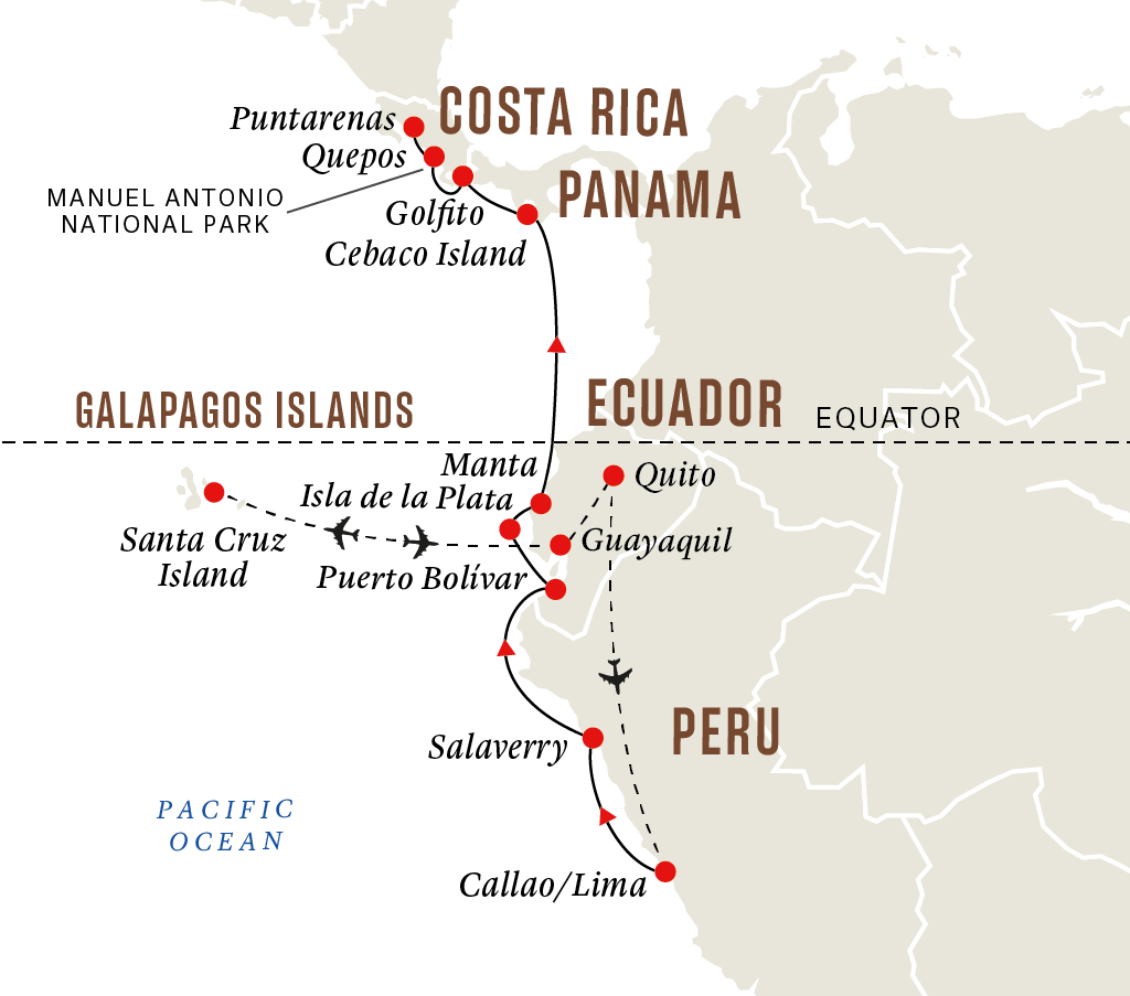 Galápagos Islands & National Parks of South America