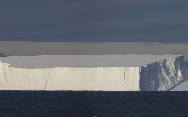 Giant iceberg in Antarctica
