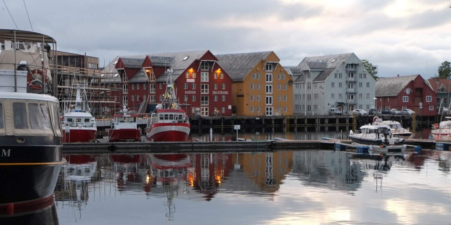 The port of Tromsø