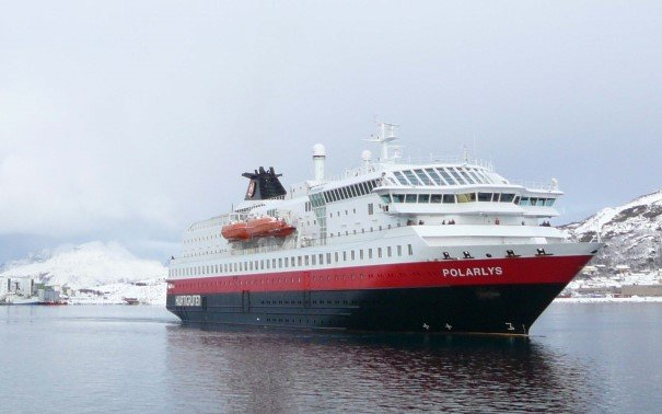 MS Polarlys at Bodø